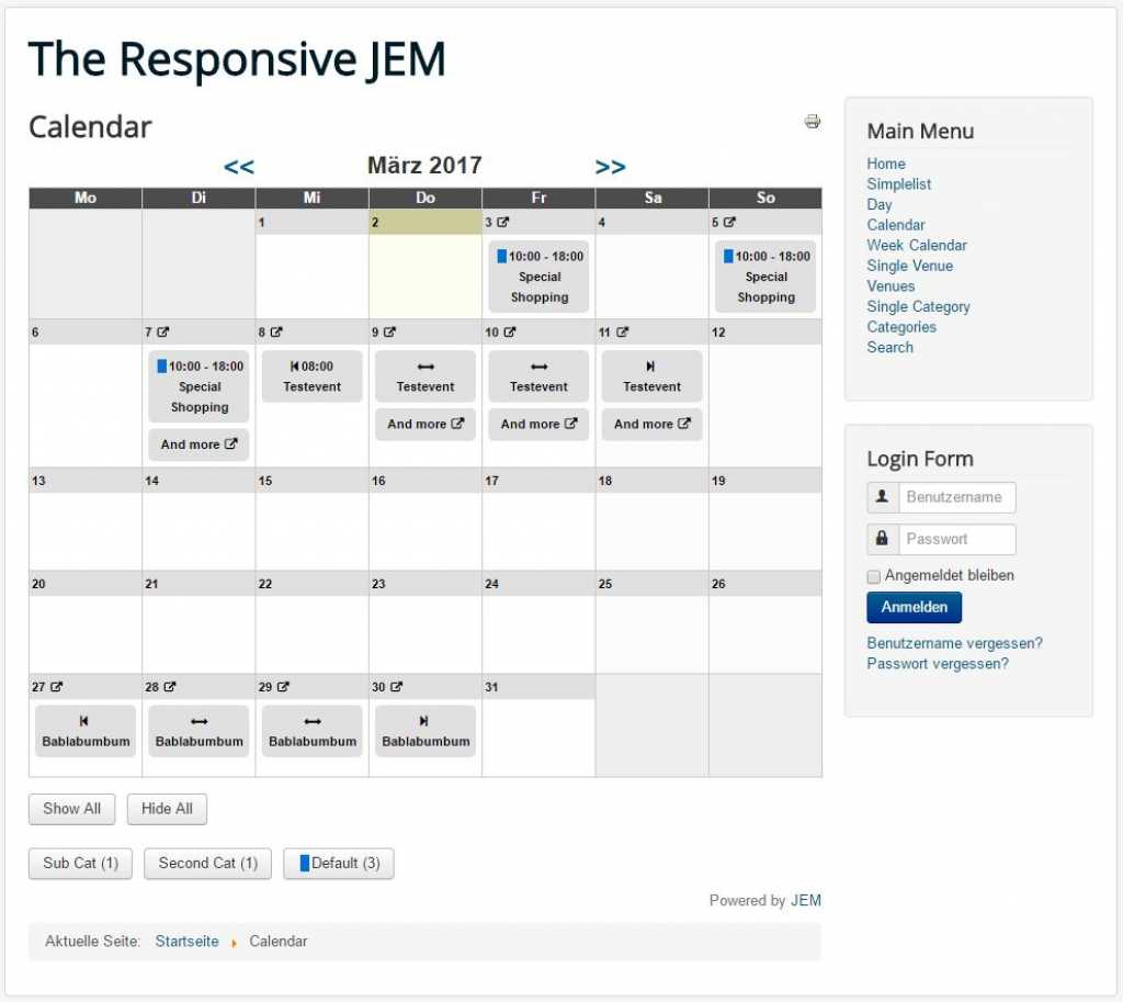 Joomlaeventmanager Jem Support Forum The Responsive Jem 117
