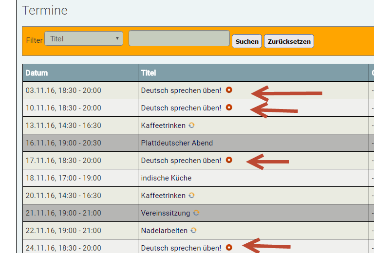 Joomlaeventmanager net - [SOLVED] Unpublished events shown with PHP